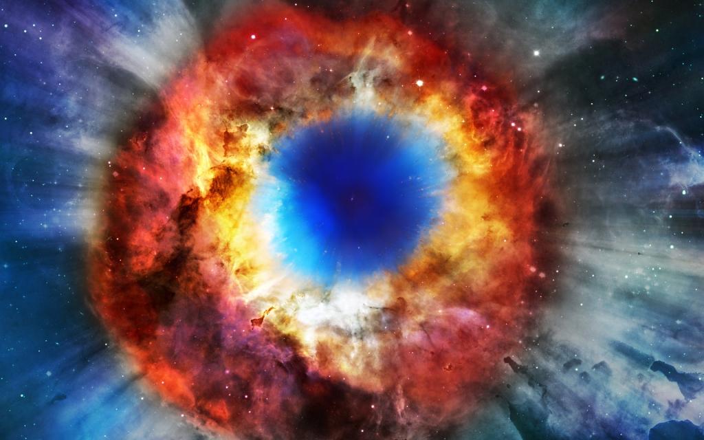 """Helix Nebula """"eyeball"""""""