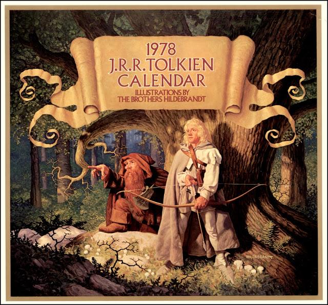 1978 Tolkien Calendar by Tim and Greg Hildebrandt